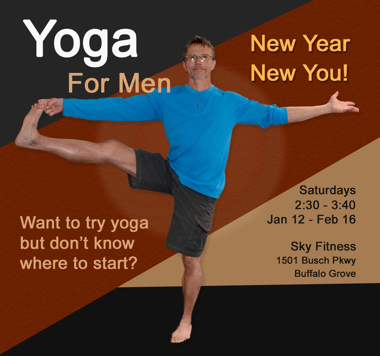 Yoga for Men Buffalo Grove IL