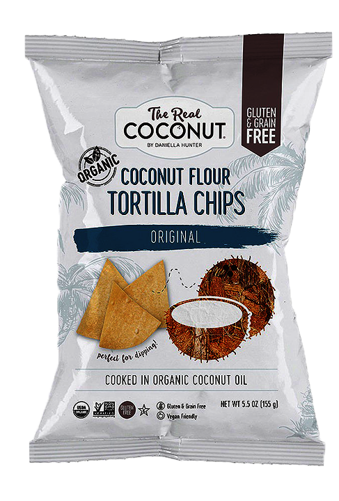 The Real Coconut Tortilla Chips