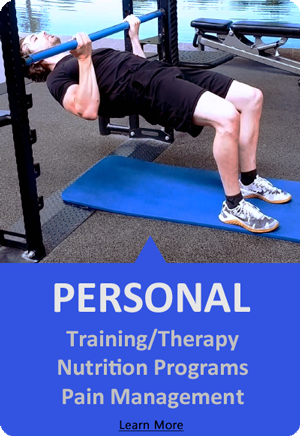 personal training, nutrition and pain management