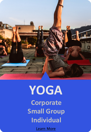 group and corporate yoga